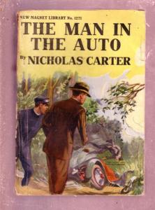 NEW MAGNET LIBRARY-#1271-MAN IN AUTO-NICK CARTER FR