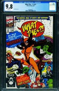 What The #11 CGC 9.8 Wolverina 1991 Wolverine parody 2050854011