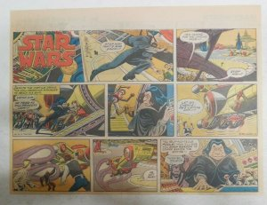 Star Wars Sunday Page #64 by Russ Manning from 5/25/1980 Large Half Page Size!