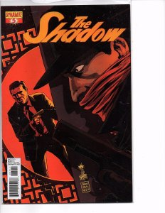 Dynamite Comics The Shadow #5 Garth Ennis Story Francesco Francavilla Cover