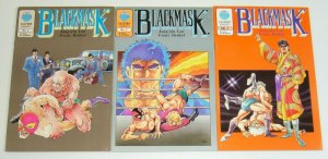 BlackMask #1-3 FN/VF complete series - eastern comics  pro wrestling manga set 2