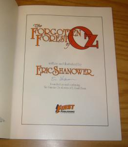 Forgotten Forest of Oz SC VF signed by eric shanower - l. frank baum (2nd)