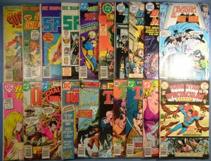 Lot of 20 DC Bronze Age Comics