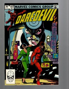 Daredevil # 197 NM Marvel Comic Book Bullseye Defenders Hell's Kitchen TW67