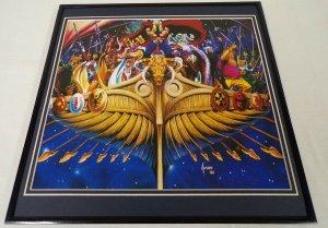 1988 Thor / Asgard ORIGINAL Vintage Framed 12x12 Poster Display