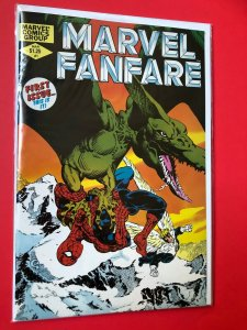 MARVEL FANFARE V1 #1 1982 MARVEL /  NM CONDITION