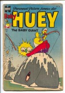 Paramount Animated Comics-Baby Huey #10 1954-Haevey-Fearless Fosdick-early is...