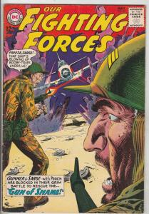 Our Fighting Forces #84 (May-64) VF High-Grade Gunner and Sarge, Pooch