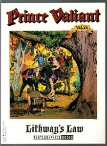 Prince Valiant #26 1995-Fantagraphics-color reprint-Hal Foster-Lithway's Law-VF
