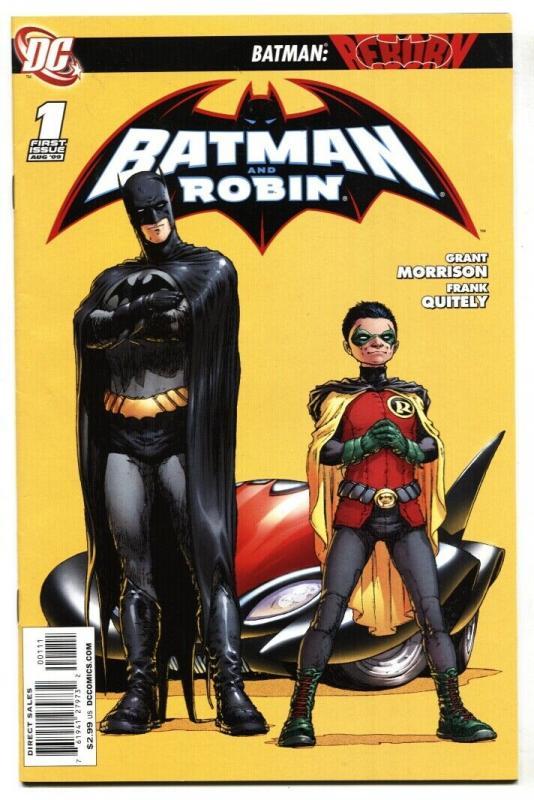 Batman and Robin #1 1st issue DC comic book 2009 NM-