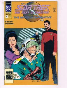 Star Trek The Next Generation #4 VF/NM DC The Modala Imperative Comic Book DE13