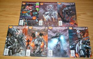 Terminator 2: Infinity #1-7 VF/NM complete series - simon furman - dynamite set