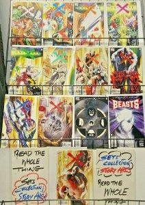 UNIVERSE X (Marvel, 2000) #2-6,9-12,X, OMNIBUS,4,BEASTS VF-NM Alex Ross,Krueger