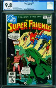 Super Friends #47-CGC 9.8-Origin Fire and Green Fury 1465173015
