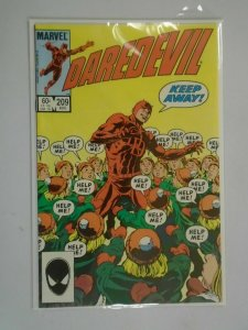 Daredevil #209 Direct edition NM (1984 1st Series)
