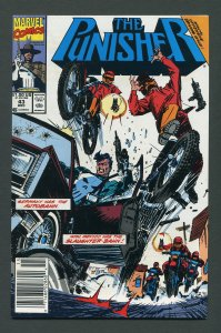 Punisher #43 / 9.0 VFN/NM  - 9.2 NM-  Newsstand December 1990