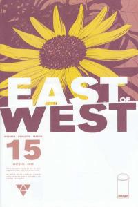 East of West #15, NM + (Stock photo)