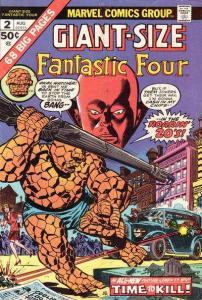 Giant-Size Fantastic Four #2, Fine+ (Stock photo)
