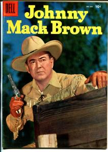 Johnny Mack Brown-Four Color Comics #685 1956-Dell-photo cover-B-Western-VF