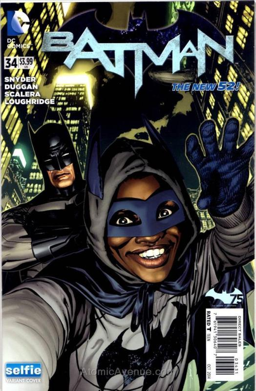 Batman (2nd Series) #34B VF; DC | save on shipping - details inside