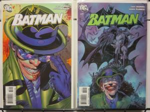 BATMAN 698-699  RIDDLE ME THIS