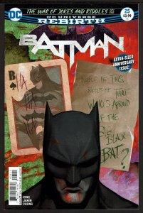 Batman #25 Rebirth (Aug 2017, DC) 0 9.4 NM