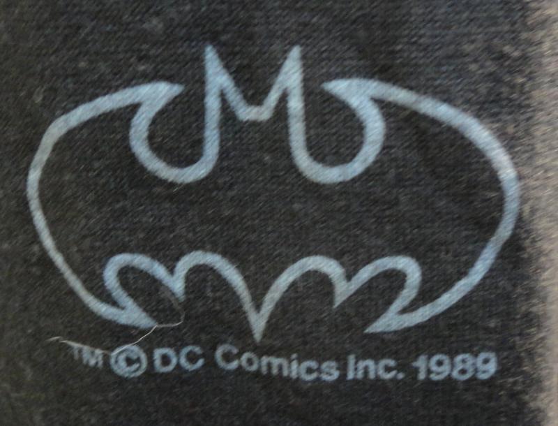 JOKER, Gotham City, DEADSTOCK Vintage Tshirt,1989,XL,DC Comics, BATMAN Villain