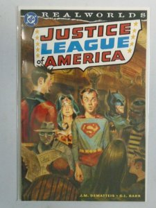 Realworlds Justice League of America #1 8.0 VF (2000)