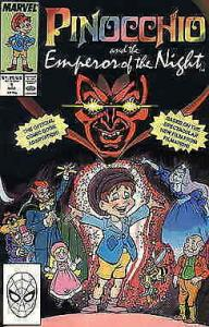Pinocchio and the Emperor of the Night #1 FN; Marvel | save on shipping - detail