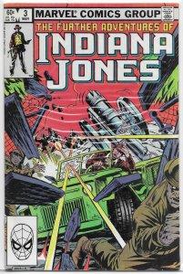 Further Adventures of Indiana Jones   # 3 FN