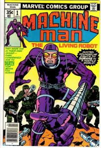 MACHINE MAN (1978) 1 F-VF April 1978