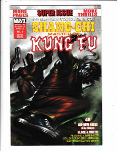 SHANG-CHI MASTER OF KUNG FU#1  DEADPOOL  CVR FN/VF  NO RESERVE  Save on shipping