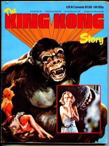 King Kong Story 1976-original & remake-Son of Kong-vs Godzilla-Konga-FN