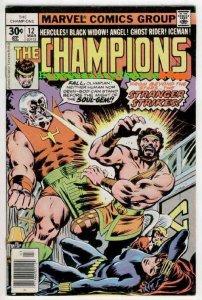 CHAMPIONS #12-13, VF, Hercules, Ghost Rider, Black Widow, Angel, John Byrne