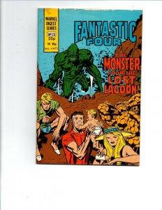 Marvel Digest Series #25 - Pocket Book -Fantastic Four -British 25p -1982 -VF/NM