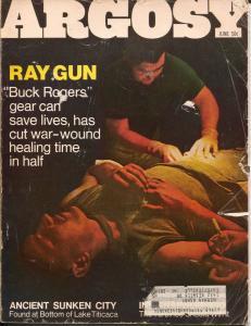 Argosy 6/1968-Popular-medical horror-Indy 500-cheesecake-pulp thrills-G/VG