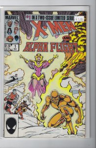 X-Men And Alpha Flight #1&2