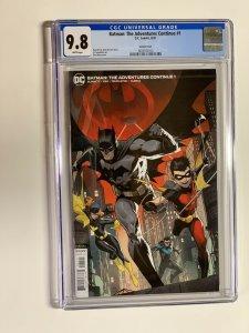 Batman the adventures continue 1 CGC 9.8 DC comics Variant