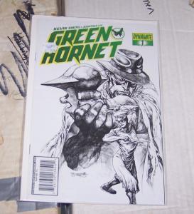 Green Hornet #1 (Mar 2010, Dynamite Entertainment) SKETCH  VARIANT COVER 1:25