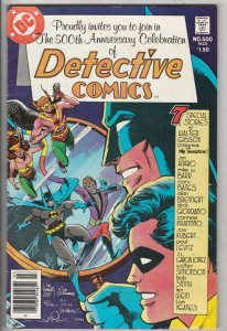 Detective Comics #500 (Mar-81) NM- High-Grade Batman
