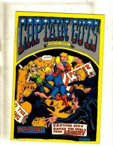 Captain Guts Comics # 1 Indy Underground Comic Book Comix Power Smash JF30