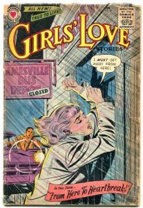 Girls' Love Stories #60 1959 DC-DC Romance Heartbreak G