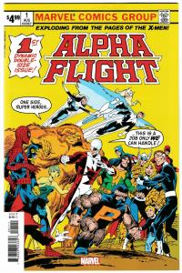 Alpha Flight #1 Facsimile Edition (Marvel, 2019) NM