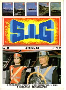 S.I.G. #11 Autumn 1984 Derek Meddings Interview, Thunderbirds, Jet Car UK TV