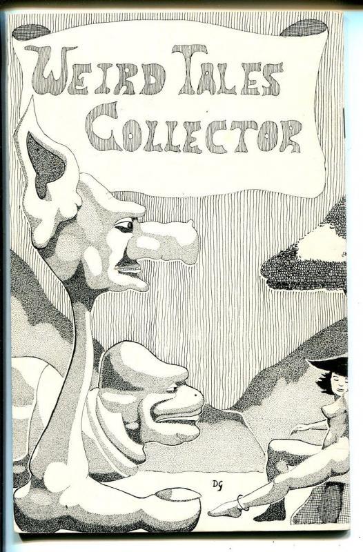 Weird Tales Collector #3 1978-Weinberg-fanzine-index from 1/1933 thru 9/1938-FN