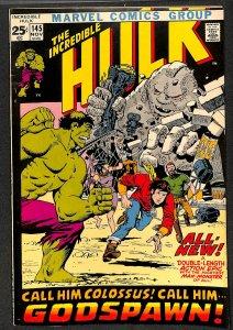 Incredible Hulk (1968) #145 FN/VF 7.0 Marvel Comics