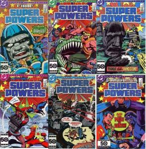 SUPER POWERS (1985) 1-6  JACK KIRBY  2nd Series!