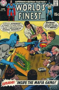 World's Finest Comics #194 GD; DC   low grade comic - save on shipping - details