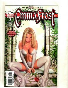 Emma Frost # 1 NM 1st Print Marvel Comic Book X-Men Greg Horn Cover Learning HY1