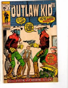 The Outlaw Kid # 2 VG/FN Marvel Western Series Comic Book Silver Age CD1